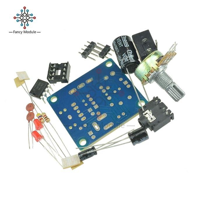 Value-Trade-Inc - DIY Kit LM386 Super Mini Audio Amplifier DIY Kit Suite Trousse LM386 Amplificador Module Board 3.5mm 3-12V - - Amazon.com