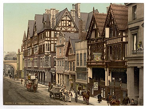 (Historic Photos Eastgate Street and Newgate Street, Chester,)