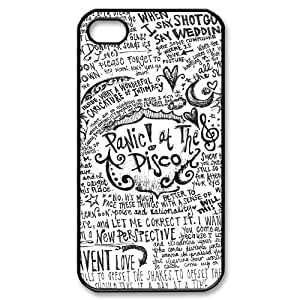 Hjqi - Customized panic at the disco Phone Case, panic at the disco Personalized Case for iPhone 4,4G,4S