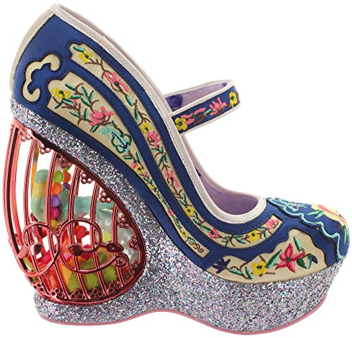 Irregular Choice  Ava's Avairy, Mary Janes pour femme multicolore multicolore