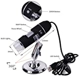 JINGOU Portable USB Digital Microscope 20x-800x