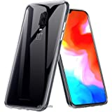 Efonebits Clear Case Ultra Transparent Silicone Gel Cover for Oneplus 6t and Oneplus 6t Mclaren Edition