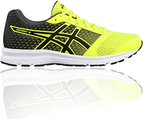 Asics Patriot 8, Zapatillas de Running para Hombre, Amarillo (Safety Yellow/Black/White), 39 EU: Amazon.es: Zapatos y complementos