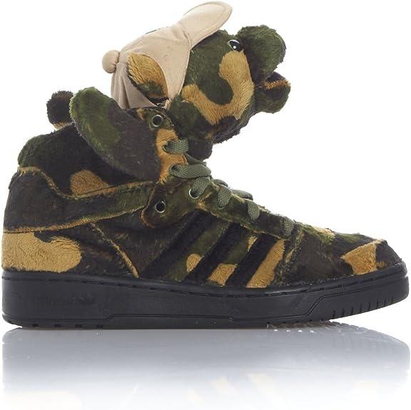 Adidas JEREMY SCOTT JS CAMO BEAR camouflage Damen Herren
