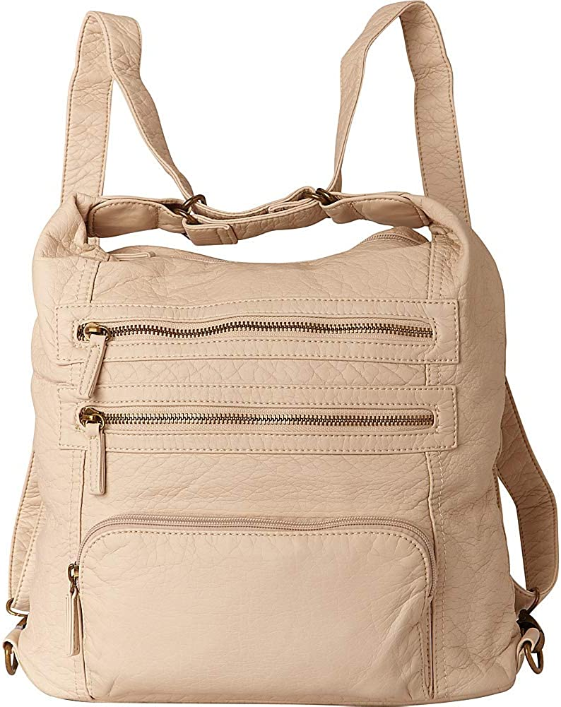 Ampere Creations The Lisa Convertible Backpack Taupe
