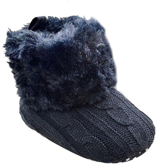 Weixinbuy Baby Girls Knit Soft Fur