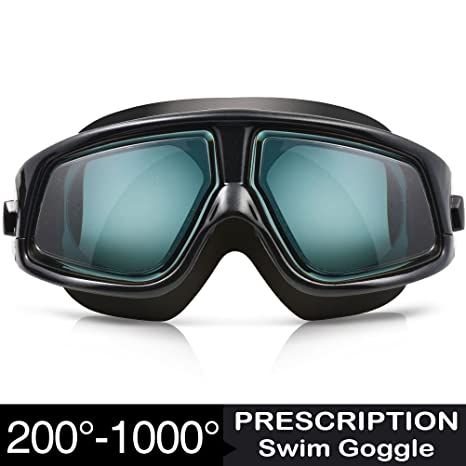 66b1791e21 Amazon.com   Zionor RX Prescription Swim Goggles