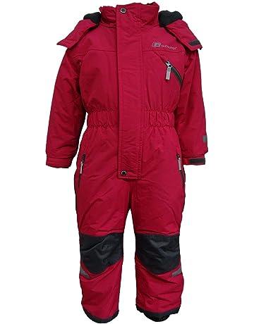 Kinder Ski Overall Pink Gr 92 wasserdicht Matschanzug Schneeanzug Skianzug
