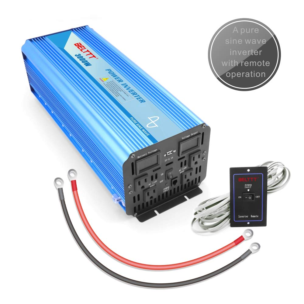 Belttt 3000w Pure Sine Wave Inverter Garden Outdoor Circuit Diagram In Addition