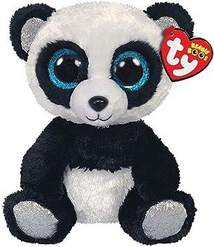 Ty – Beanie Boos – Peluche de bambú, Modelo Panda, TY36327, Color Negro/Blanco, 15 cm: Amazon.es: Juguetes y juegos