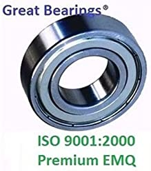 6002-2RS Premium HCH seal 6002 2rs bearing EMQ bearings 6002 RS ABEC3 Qty.100