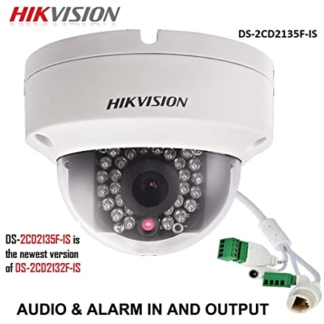 Hikvision DS-2CD2135 F-IS 4 mm 3 MP HD cámara IP H.