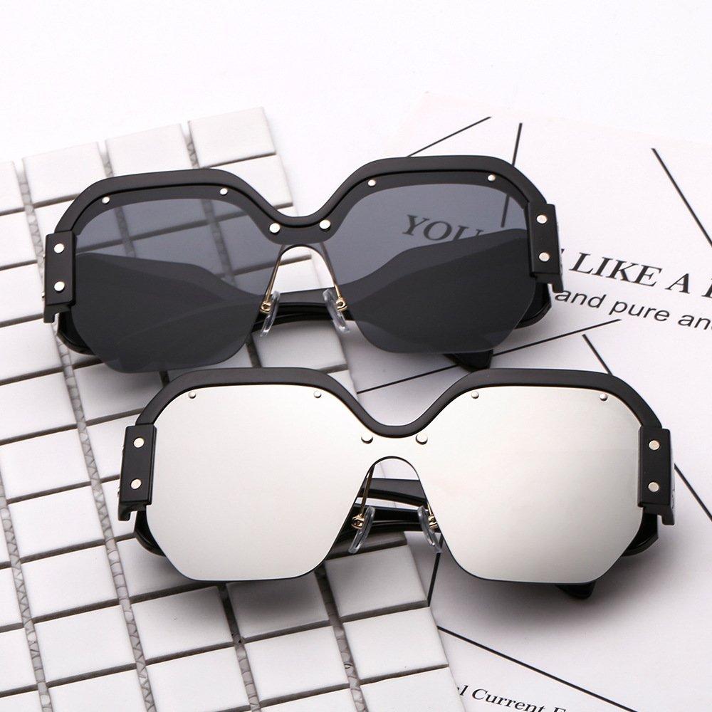Amazon.com: Futurista anteojos anteojos de sol cuadrados ...