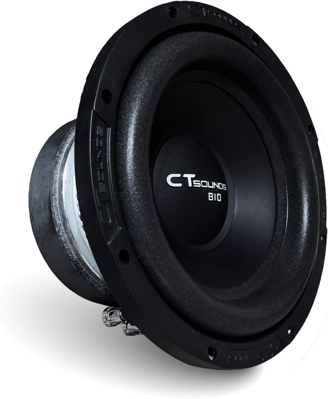 CT SOUNDS 8 inch Car Subwoofer