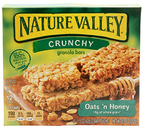 Nature Valley Oats 'n Honey Granola Bars 8.94 oz - Honey Granola Bar