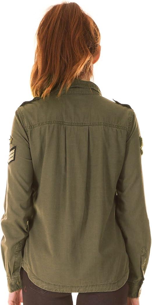 Camisa Only Nevada Verde 34 Verde: Amazon.es: Ropa y accesorios