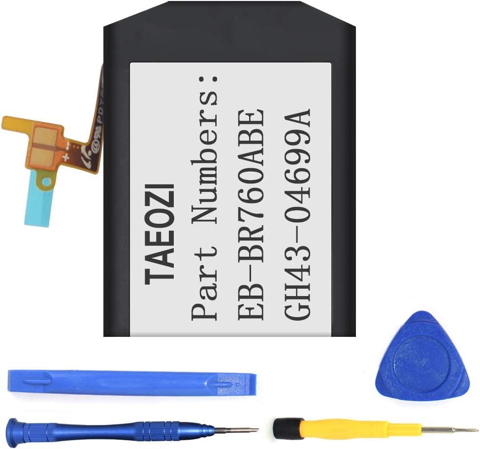 Batería de repuesto de 380mAh para Samsung Gear S3, Frontier SM-R760, Gear S3 Classic SM-R770 BR760 R765 EB-BR760ABE GH43-04699A. Batería y herramientas de reparación