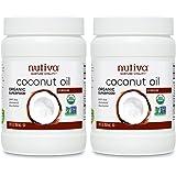 Nutiva Organic Coconut Oil, Virgin, 29 Ounce (Pack of 2)