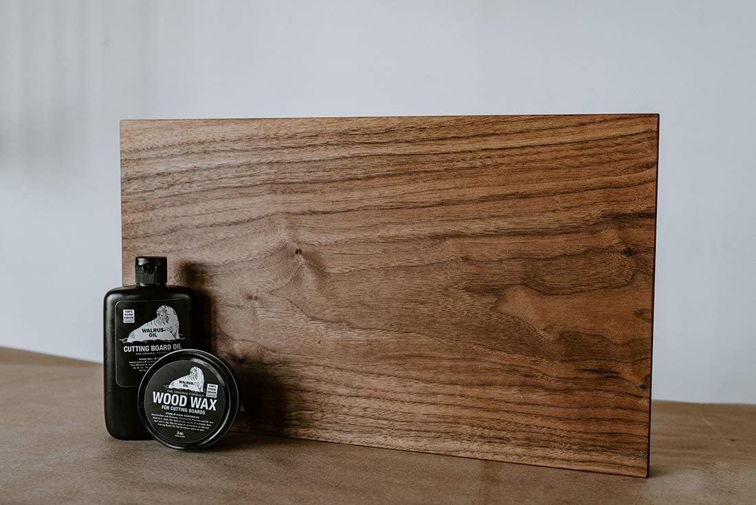WALRUS OIL - Cutting Board Oil and Wood Wax Set. for Cutting Boards, Butcher Blocks, and Counters. 100% Food-Safe by Walrus Oil (Image #2)