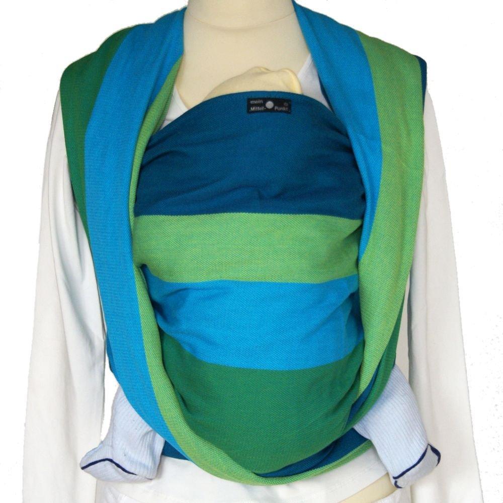 DIDYMOS Woven Wrap Baby Carrier Stripes IRIS (Organic Cotton), Size 8 SLDIR-IRIS-8