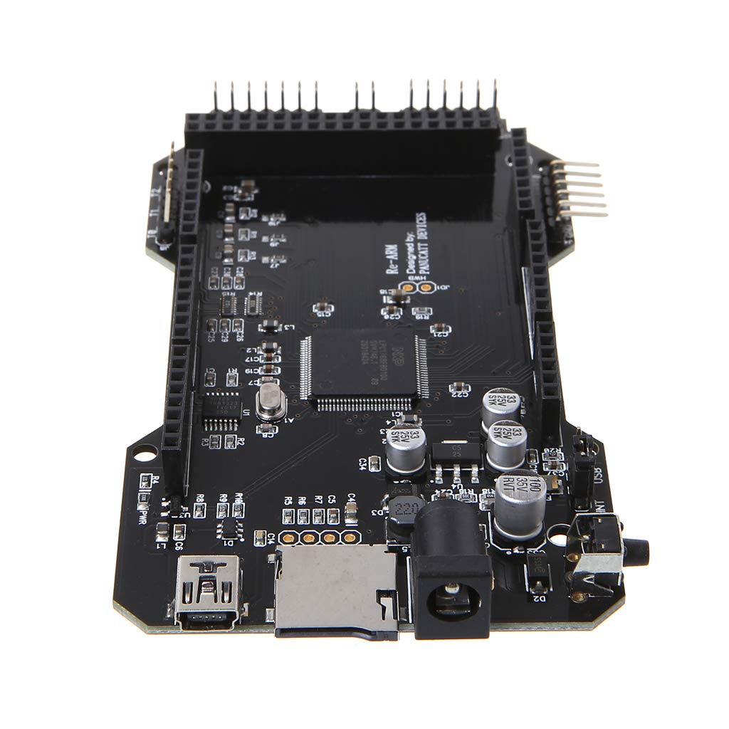 Rhfemd 3D Printer Parts RE-ARM 32-Bit Controller Board Mega 2560 R3 Ramps 1.4 1.5 1.6 Bottom Board Compatible with USB by Rhfemd (Image #6)