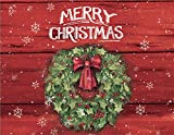 LANG 1004774 -''Merry Christmas'', Boxed Christmas Cards, Artwork by Susan Winget'' - 18 Cards, 19 envelopes - 5.375'' x 6.875''