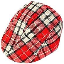Toddler Kid's Newsboy Hat Cap Plaid Golfer