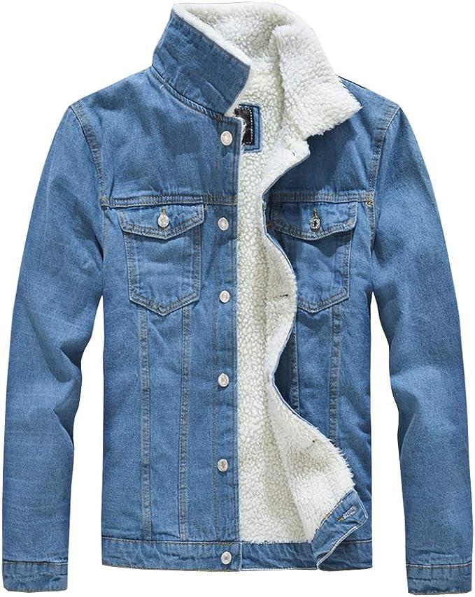 Bormran ボアデニムジャケット メンズ 裏ボア ジージャン ブルゾン 厚手 防寒ジャケット 冬服 アウター あったか 大きいサイズ DJ7012