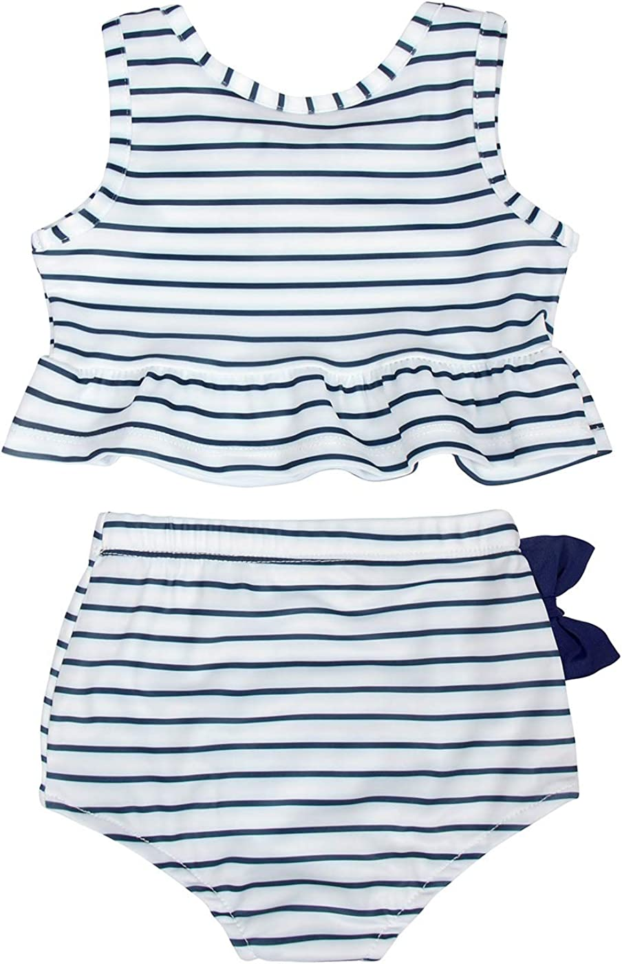MetCuento Baby Girls Swimsuit Two Piece Bathing Suit Beach Pool Swimming Suit Swimwear Summer Clothes