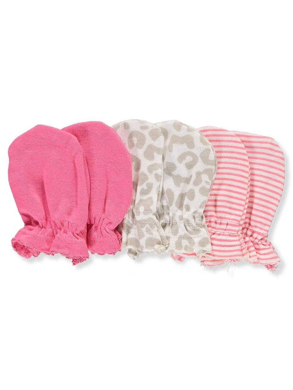 Amazon.com: Gerber Baby Girls paquete de 6 manoplas ...