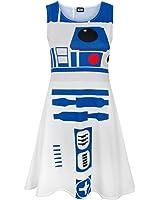 Star Wars R2D2 Women's Cosplay Costume Dress