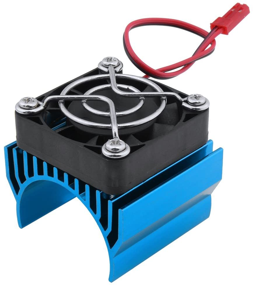 Super Brushless Motor Heatsink with Cooling Fan RS540 550 540 Size 5-6V Electric Engine Heat Sink for Remote Control RC Car Truck Buggy Crawler