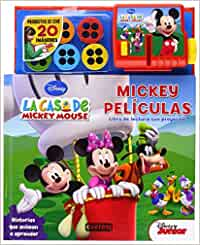 La casa de Mickey mouse. Mickey películas. Libro de Lectura con ...