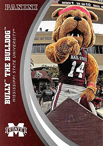 Bully The Bulldog Mascot football card (Mississippi State) 2016 Panini Team Collection #1