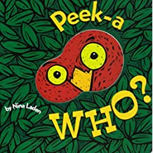Peek-A Who? (Lift the Flap Books, Interactive Books for Kids, Interactive Read Aloud Books)