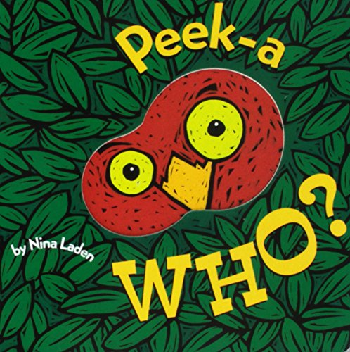 Peek-A Who? (Lift the Flap Books, Interactive Books for Kids, Interactive Read Aloud -