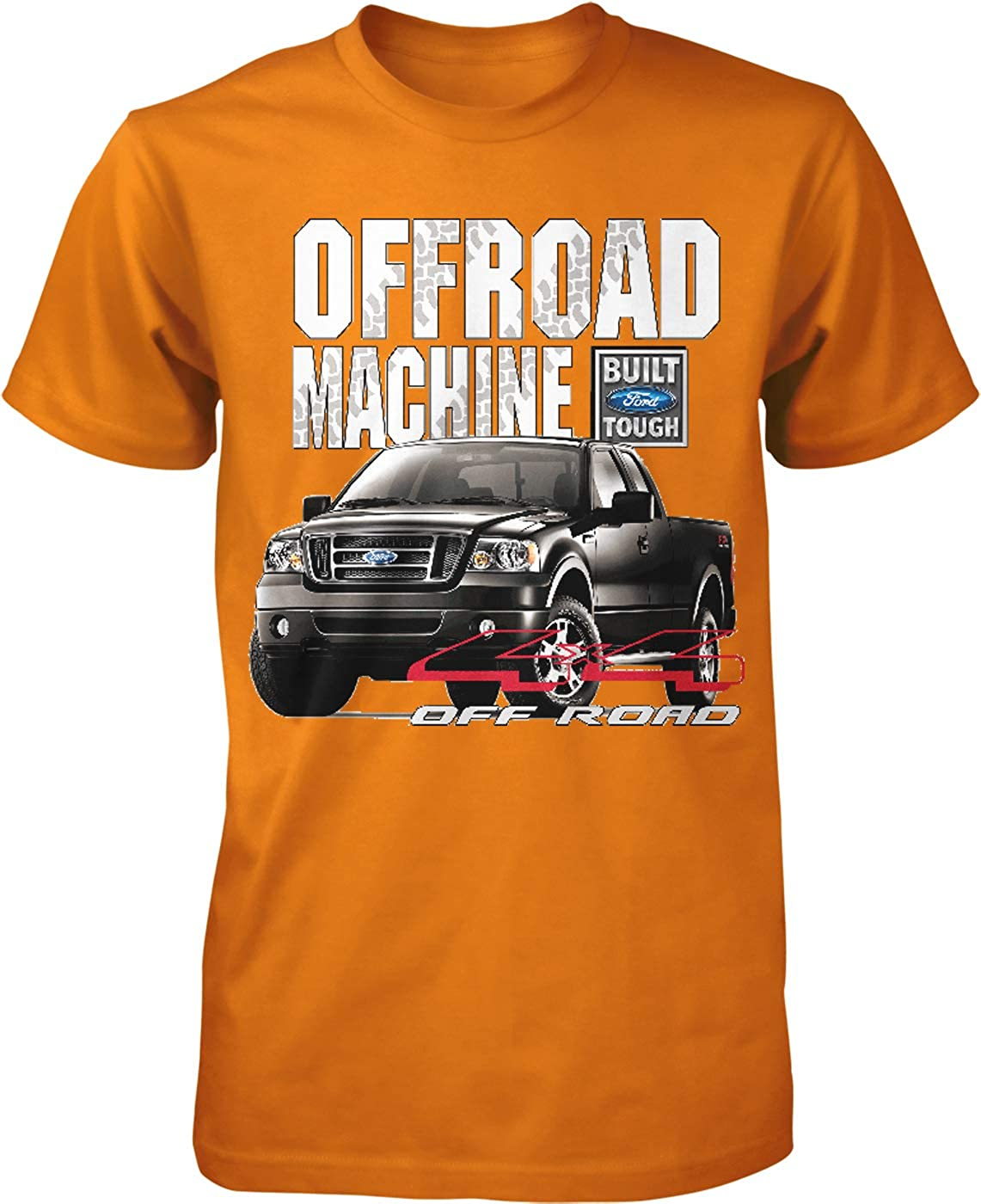 Offroad Machine Built Ford Mens T-Shirt Hoodteez Ford F-150