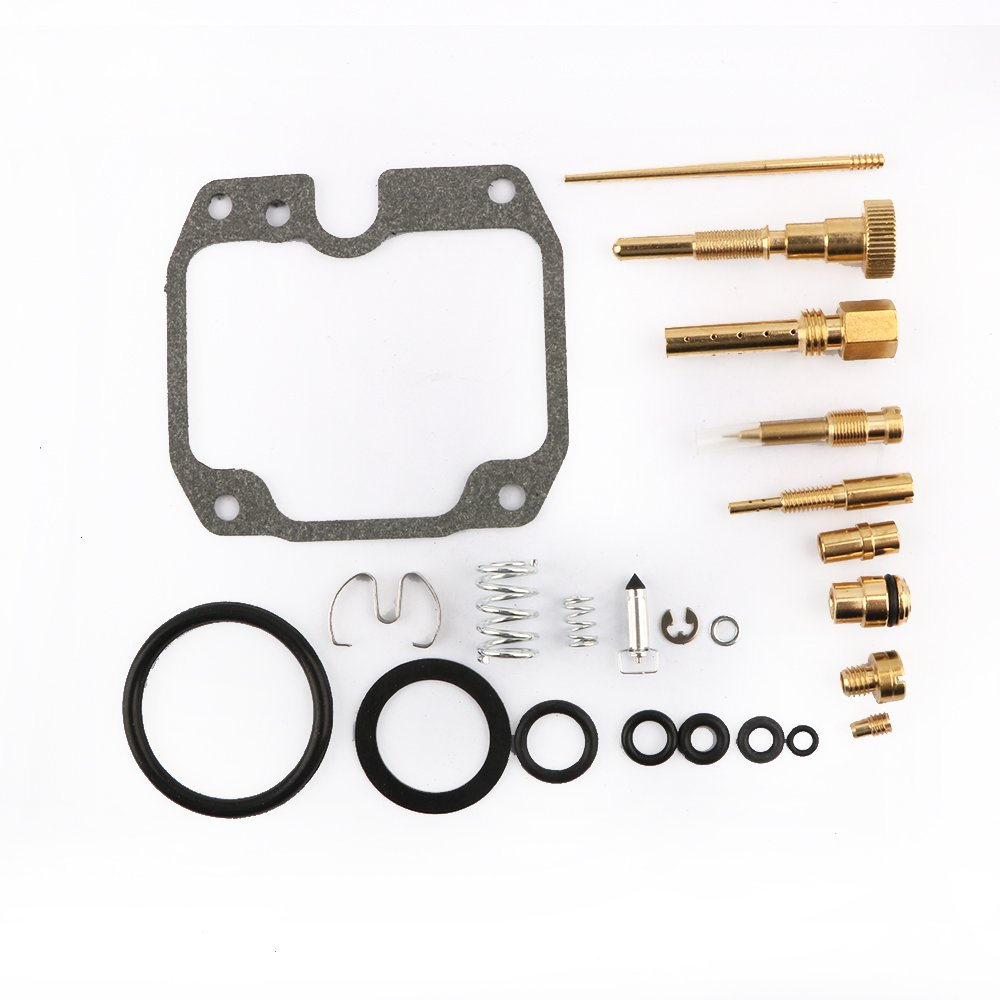 Carburetor Carb Rebuild Kit Repair for 1986 1987 1988 1989 Yamaha YFM200 Moto 4 By Mopasen