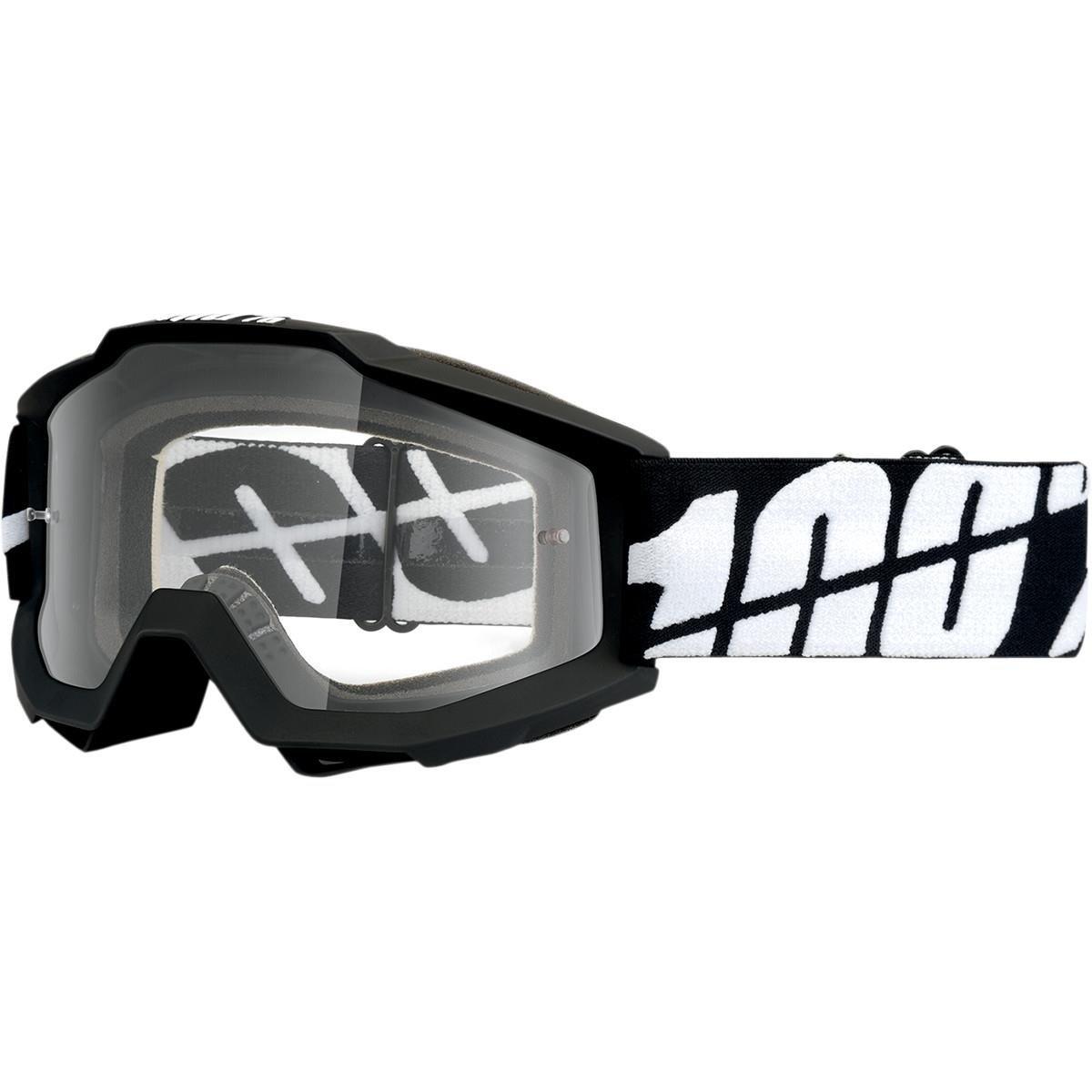 Unbekannt 100% Accuri Maske Black Tornado Display Klar