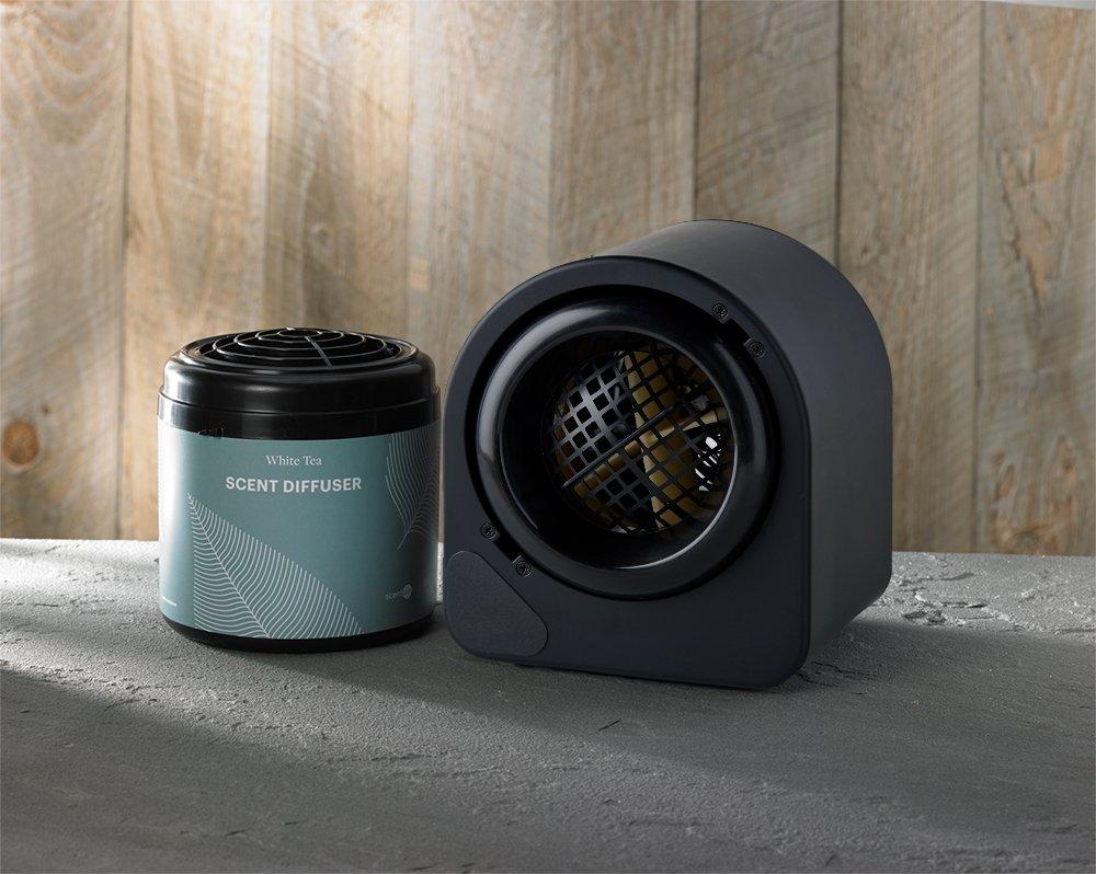 Aromatherapy Diffuser: Westin White Tea Scent Machine with Free Cartridge
