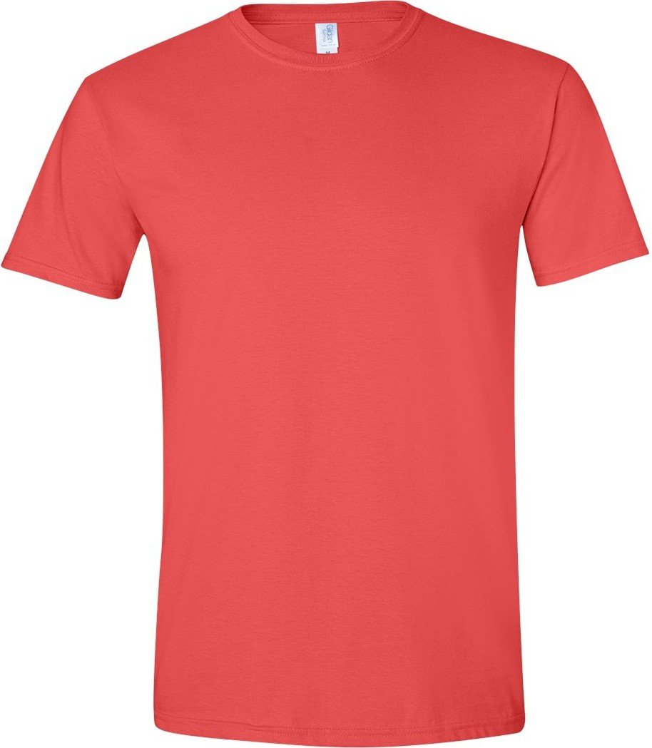 (ギルダン) Gildan メンズ ソフトスタイル 半袖Tシャツ トップス カットソー 男性用 B00WAKBI0Y Medium パプリカ パプリカ Medium