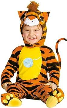 NET TOYS Disfraz de Tigre para bebé Gato Traje felino depredador ...