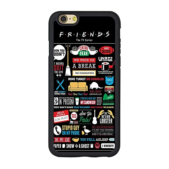 new concept a18a7 c190c Friend Iphone 6 Case,Friends Tv Show Phone Case for Iphone 6 or 6s 4.7