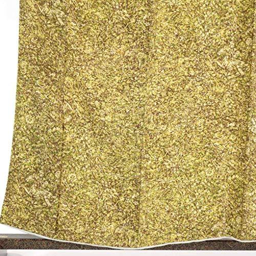ドラッグストレス命令的リサイクル小紋 / 正絹茶グリーン地袷小紋着物 / レディース【裄Sサイズ】(古着 リサイクル着物 小紋 リサイクル品)【ランクB】