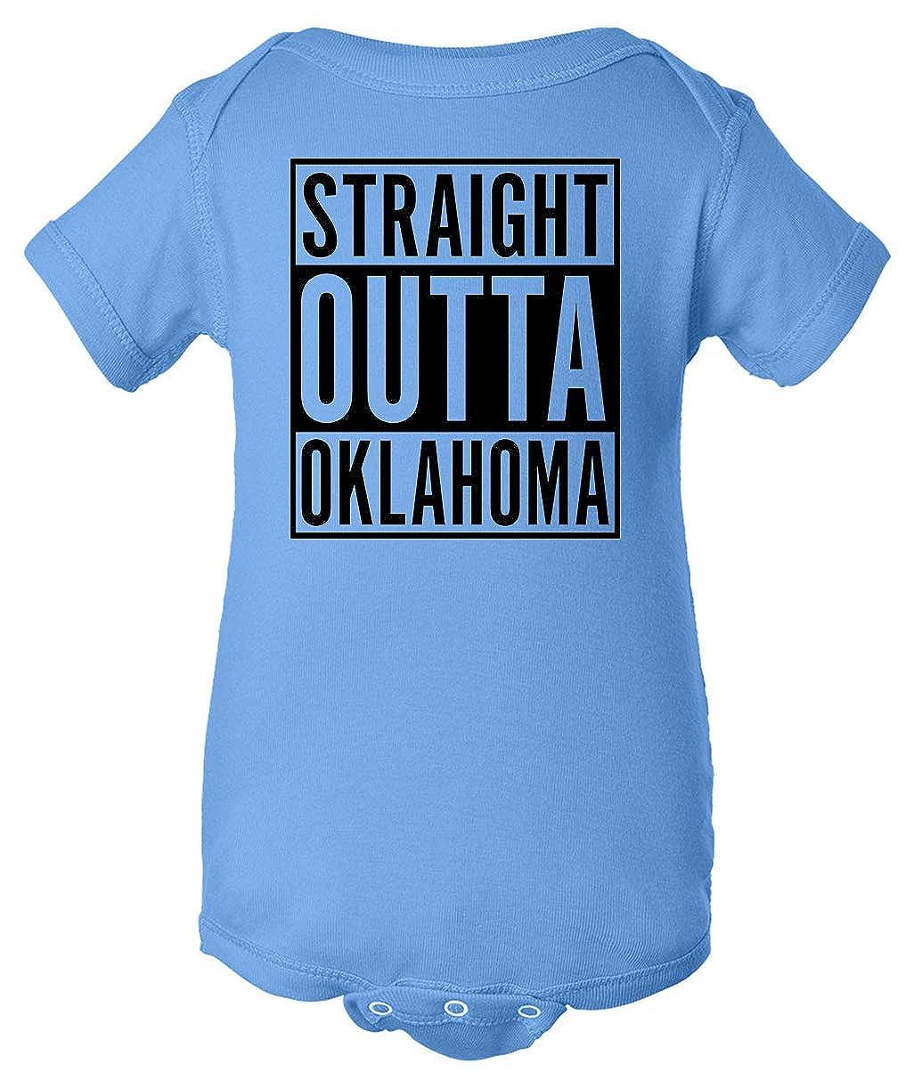 Tenacitee Babys Straight Outta Oklahoma Shirt