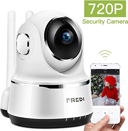 720P HD Wireless Wifi IP Camera IR Security Webcam Baby//Pet Monitor CAM Pan UK