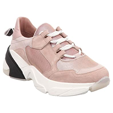preiswert kaufen heiße Angebote Kauf echt Mjus | Chunky Sneaker | Schnürschuh - rosa metallic: Amazon ...