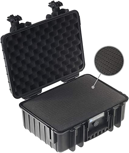 B W Transportkoffer Outdoor Typ 4000 Schwarz Mit Kamera