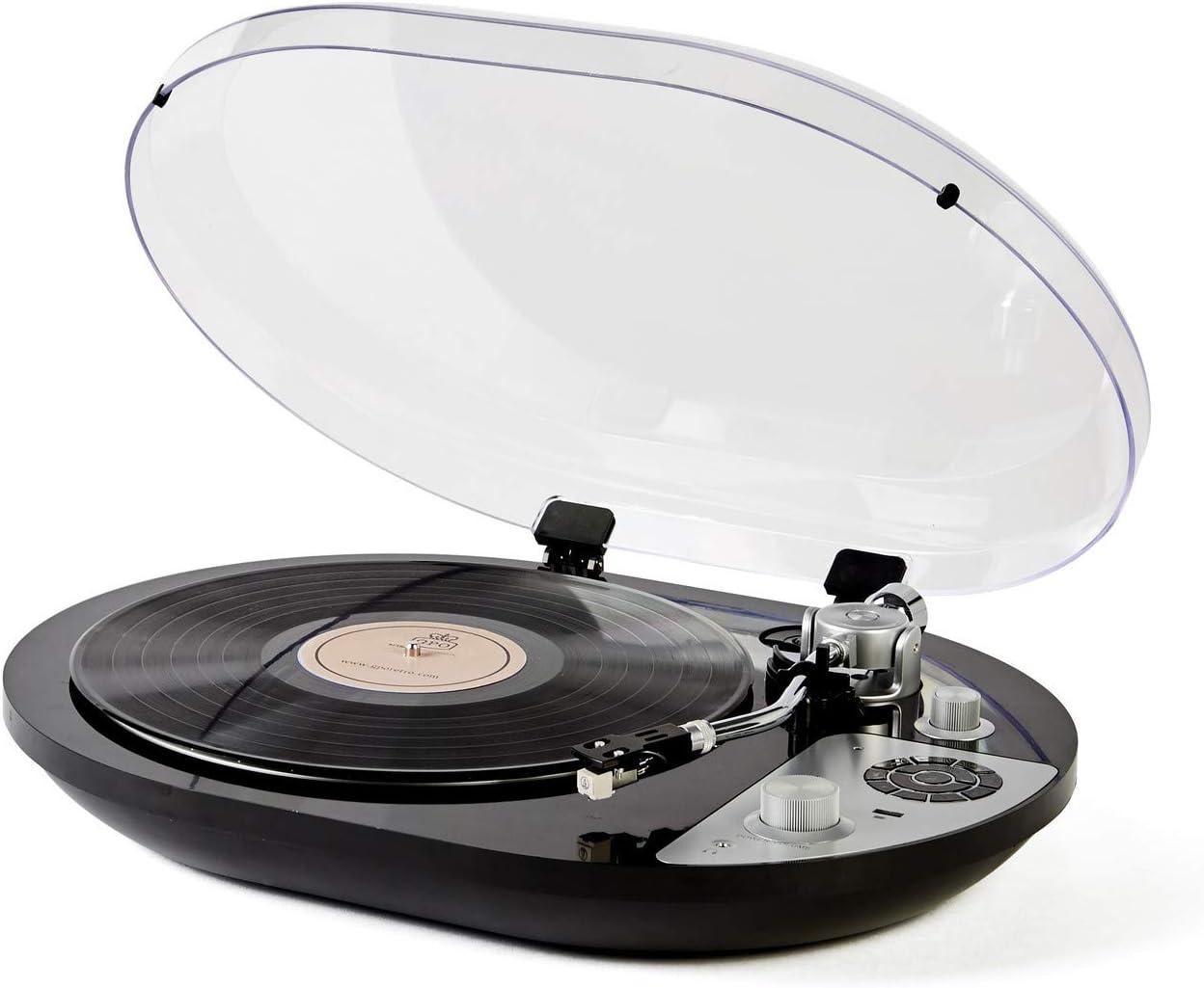GPO PR 50 - Tocadiscos con Bluetooth Integrado preamplificador ...