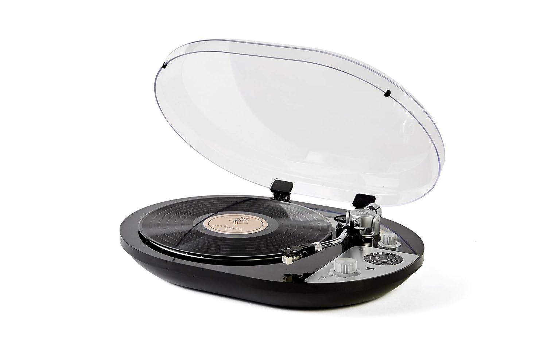 GPO PR50 Tocadiscos 33/45 RPM Bluetooth, Negro: Amazon.es: Electrónica
